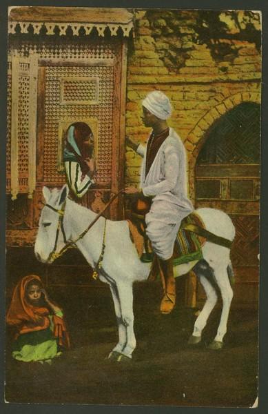 Ägypten  -   Szenen und Typen, Sitten und Gebräuche 03810