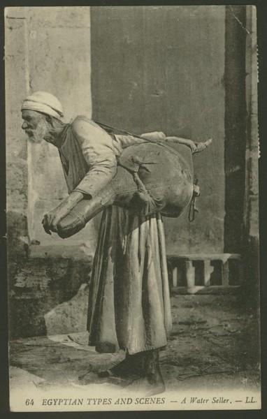 Ägypten   -   Alte Ansichtskarten   /   Menschen bei der Arbeit 03910