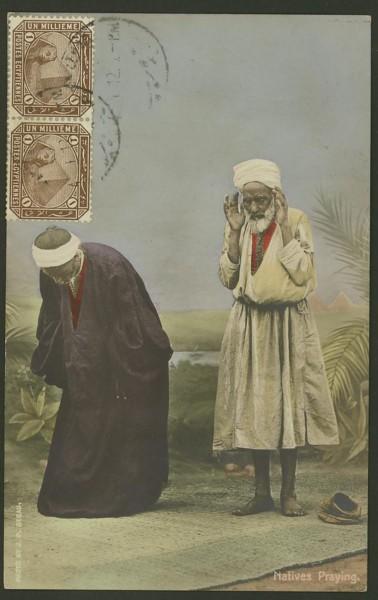 Ägypten  -   Szenen und Typen, Sitten und Gebräuche 04110