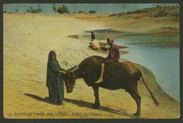 Ägypten  -   Szenen und Typen, Sitten und Gebräuche 04910