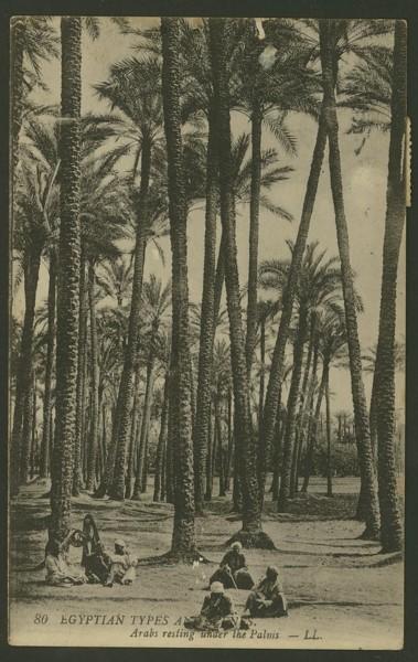 Ägypten  -   Szenen und Typen, Sitten und Gebräuche 05110