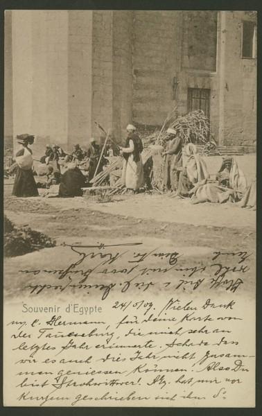 Ägypten  -   Szenen und Typen, Sitten und Gebräuche 05410