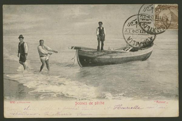Ägypten   -   Alte Ansichtskarten   /   Menschen bei der Arbeit 05910