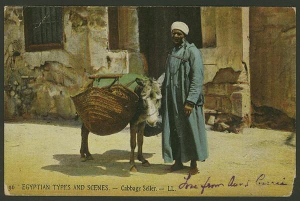 Ägypten   -   Alte Ansichtskarten   /   Menschen bei der Arbeit 06410