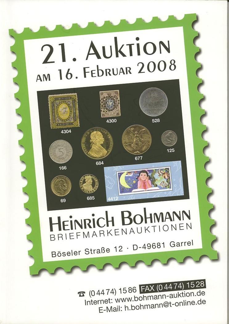 Auktionskataloge Bohman10