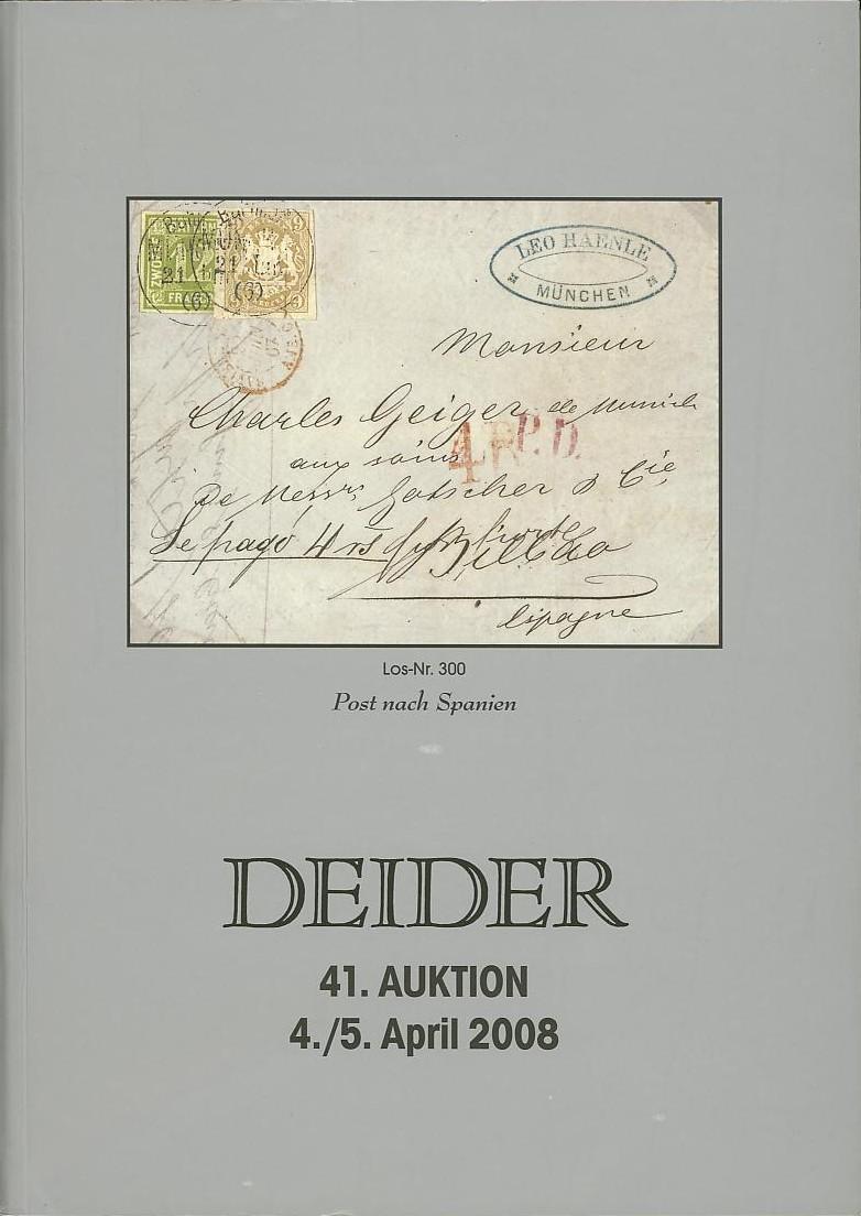 Auktionskataloge Deider10