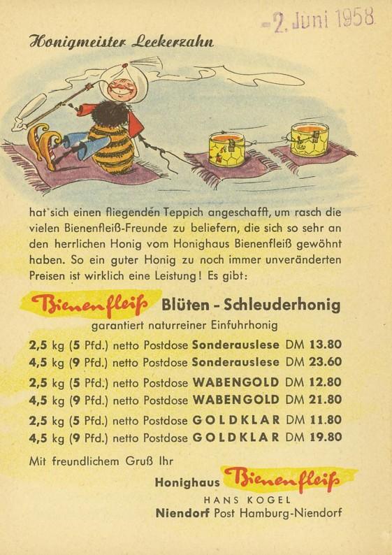 Motiv Bienen und Hummeln Honig810