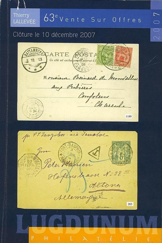 Auktionskataloge Lallev10