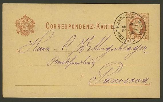 Nachtrag - Bücher, Zeitschriften, Verlage, Buchhandlungen   -   Textzudrucke auf Postkarten N_czer10