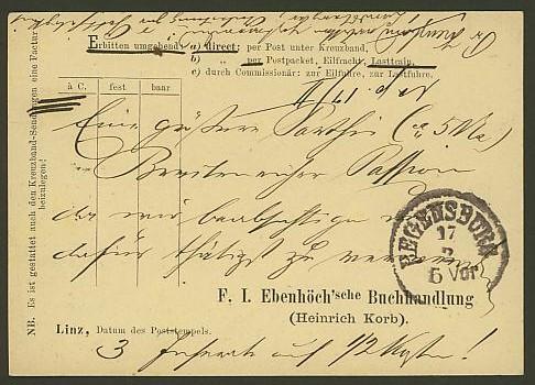 Nachtrag - Bücher, Zeitschriften, Verlage, Buchhandlungen   -   Textzudrucke auf Postkarten N_eben11