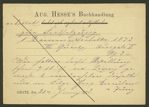 Bücher, Zeitschriften, Verlage, Buchhandlungen   -   Textzudrucke auf Postkarten N_hess11
