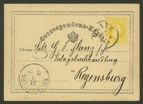 Nachtrag - Bücher, Zeitschriften, Verlage, Buchhandlungen   -   Textzudrucke auf Postkarten N_leus10