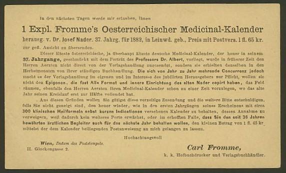 Nachtrag - Bücher, Zeitschriften, Verlage, Buchhandlungen   -   Textzudrucke auf Postkarten N_medi11