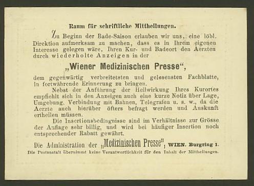 Nachtrag - Bücher, Zeitschriften, Verlage, Buchhandlungen   -   Textzudrucke auf Postkarten N_medi13