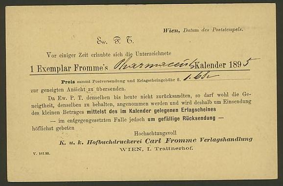 Nachtrag - Bücher, Zeitschriften, Verlage, Buchhandlungen   -   Textzudrucke auf Postkarten N_phar11