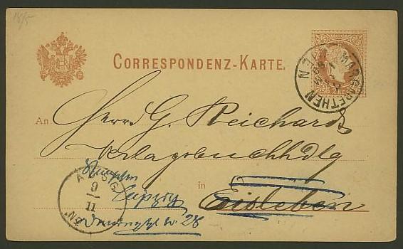 Nachtrag - Bücher, Zeitschriften, Verlage, Buchhandlungen   -   Textzudrucke auf Postkarten N_pich10