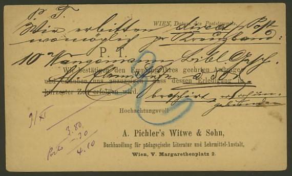 Nachtrag - Bücher, Zeitschriften, Verlage, Buchhandlungen   -   Textzudrucke auf Postkarten N_pich11