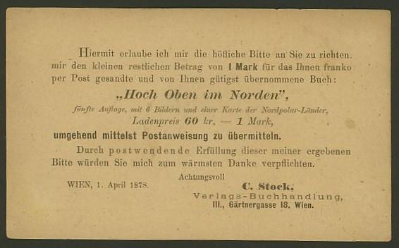 Nachtrag - Bücher, Zeitschriften, Verlage, Buchhandlungen   -   Textzudrucke auf Postkarten N_stoc11