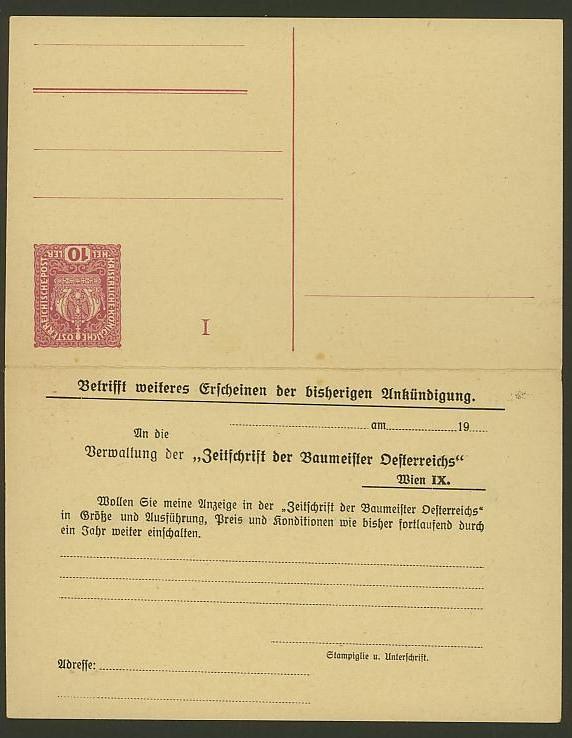 Nachtrag - Bücher, Zeitschriften, Verlage, Buchhandlungen   -   Textzudrucke auf Postkarten N_zeit10