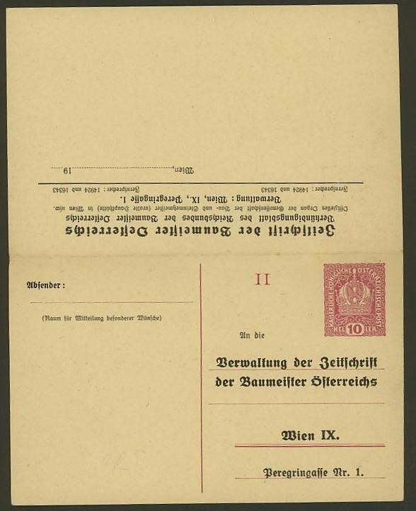 Nachtrag - Bücher, Zeitschriften, Verlage, Buchhandlungen   -   Textzudrucke auf Postkarten N_zeit11