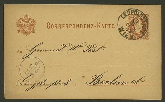 Nachtrag - Bücher, Zeitschriften, Verlage, Buchhandlungen   -   Textzudrucke auf Postkarten N_zeit12