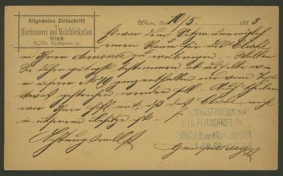 Nachtrag - Bücher, Zeitschriften, Verlage, Buchhandlungen   -   Textzudrucke auf Postkarten N_zeit13