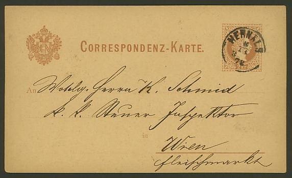 Nachtrag - Bücher, Zeitschriften, Verlage, Buchhandlungen   -   Textzudrucke auf Postkarten N_zeit14