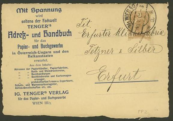 Private Ganzsachen-Postkarten Pp_2_t10