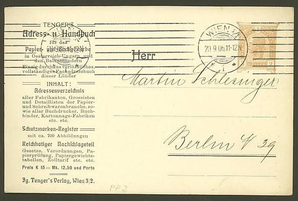 Private Ganzsachen-Postkarten Pp_2_t12