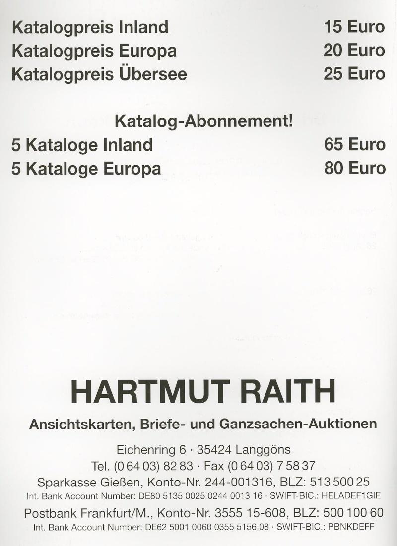 Auktionskataloge Raith010