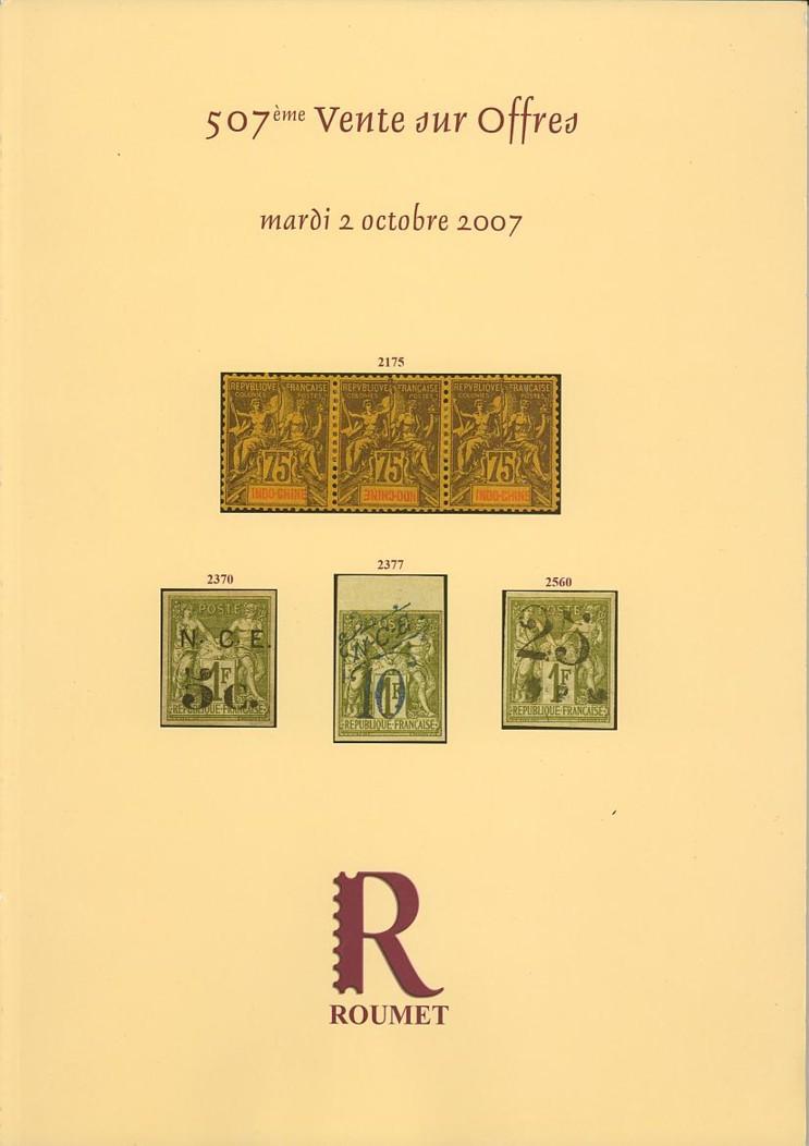 Auktionskataloge Roumet10