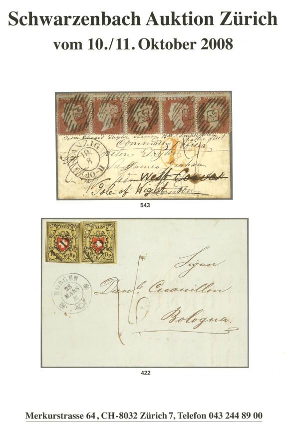 Auktionskataloge Schwar10
