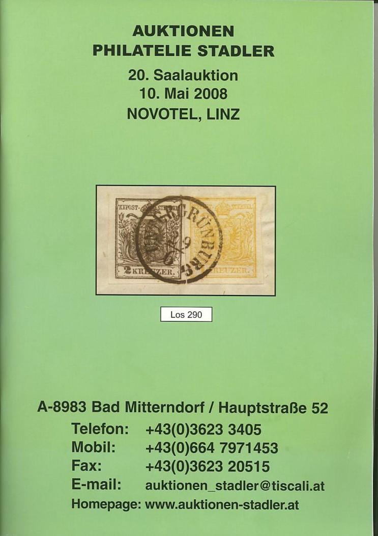 Auktionskataloge Stadle10