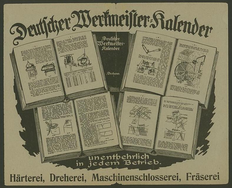 Bildhafte Werbezudrucke bei Bedarfspost  -  Bücher, Zeitschriften, Verlage Werkme11