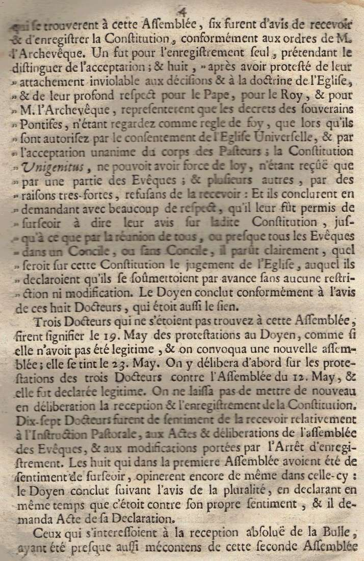 Mémoire pour les trois Docteurs et Curéz de Reims - Janvier 1716 05_pag10