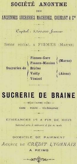 Les Entreprises - Les Sucreries 1901_b10
