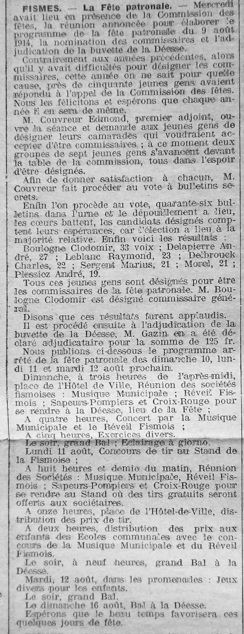 Fêtes & Manifestations Publiques 1914_011