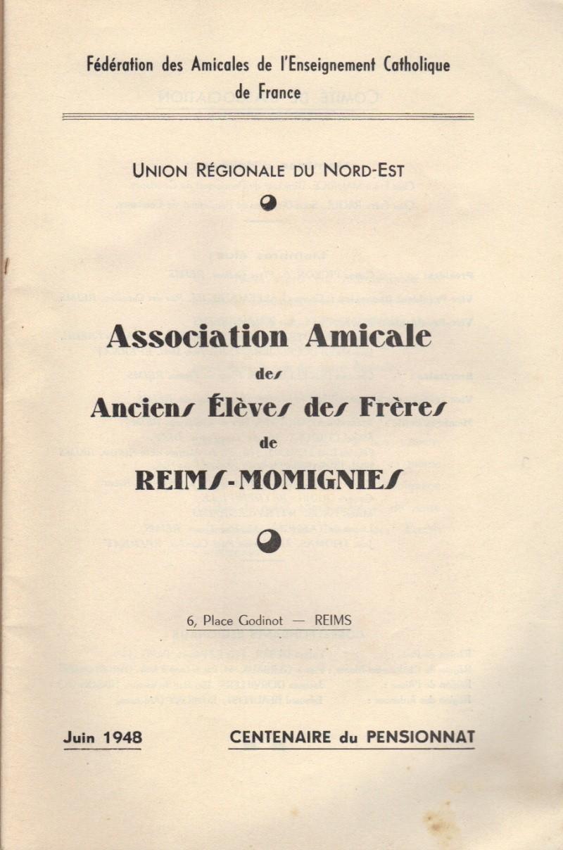 Association des Anciens Elèves des Frères Reims-Momignies 1948_c11