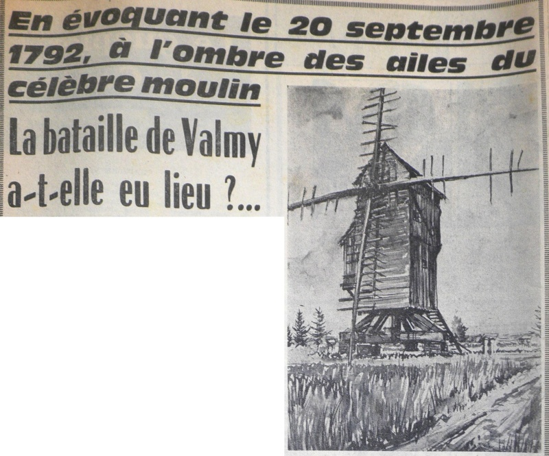 La Bataille de VALMY, Acte fondateur de la République Française 1967-011