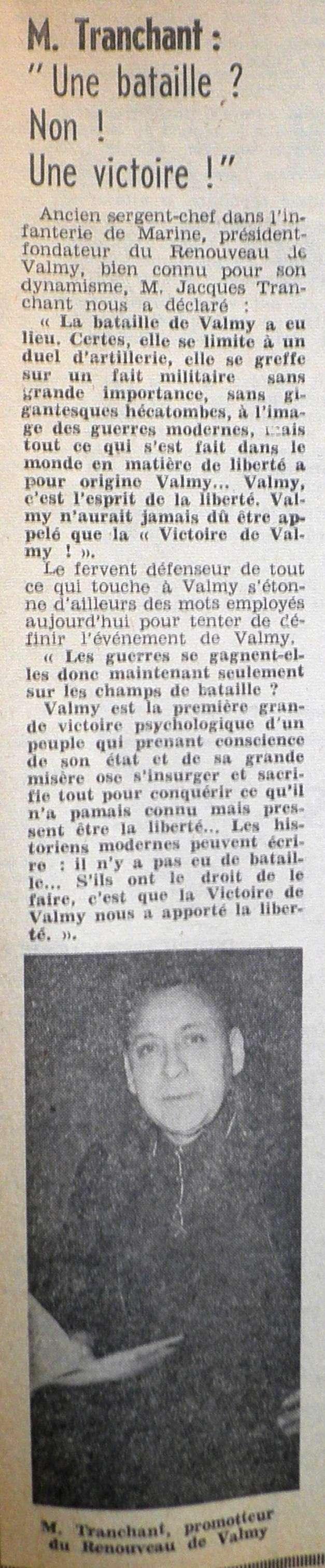 La Bataille de VALMY, Acte fondateur de la République Française 1967-013