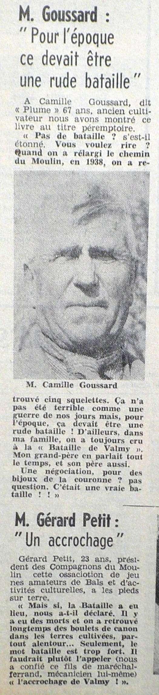 La Bataille de VALMY, Acte fondateur de la République Française 1967-015