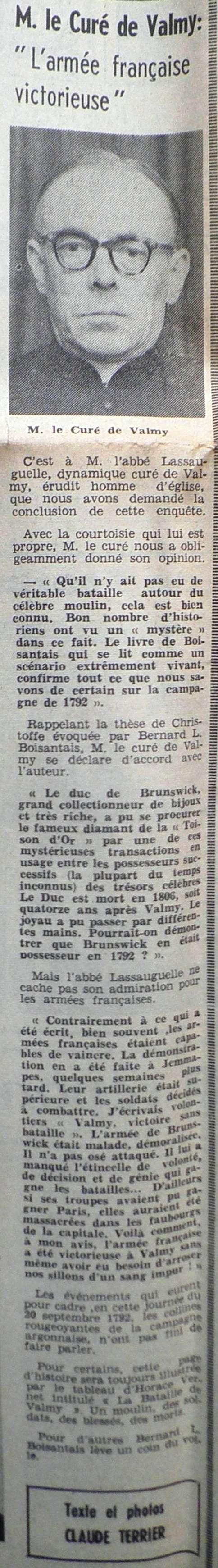 La Bataille de VALMY, Acte fondateur de la République Française 1967-017