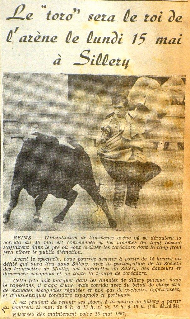 La Tauromachie, également présente dans la Marne ! 1967-018