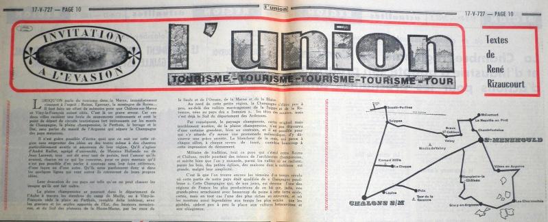 Les Pages Touristiques dans la Presse Locale 1972-024