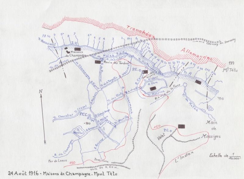 Positions du 124e Régiment d'Infanterie 4_mont10