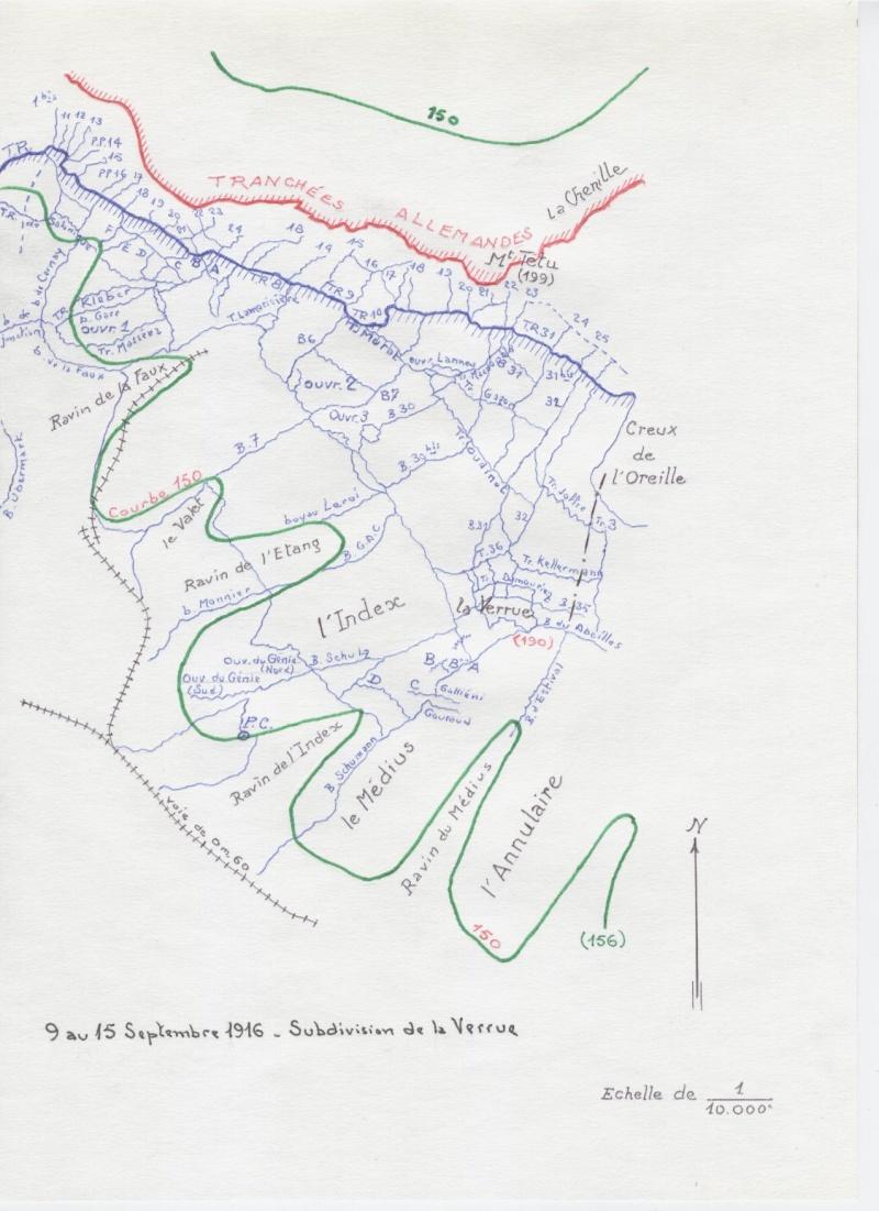 Positions du 124e Régiment d'Infanterie 5_la_v10