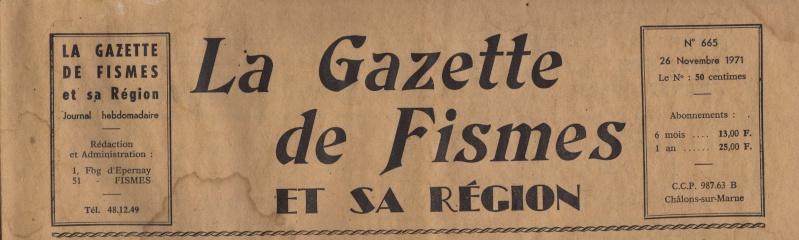 La Gazette de FISMES et sa Région 665_ti10