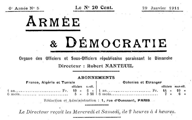 La Révolte des Vignerons en 1911 Armae_11