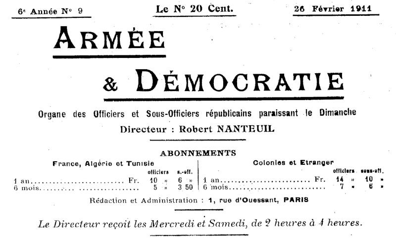 La Révolte des Vignerons en 1911 Armae_14