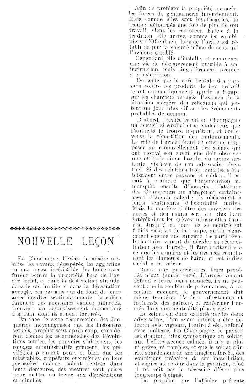 La Révolte des Vignerons en 1911 Armae_15